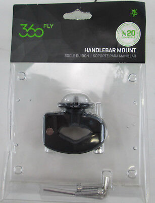 360fly QuickTwist Bicycle Handlebar Mount FLYHBMA01BEN NEW