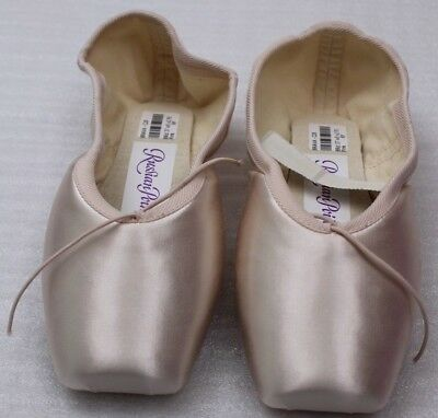 Russian Pointe Ballet Dentelle Chaussures Muse Drawstrings Gr.38 w5 C28 Rose