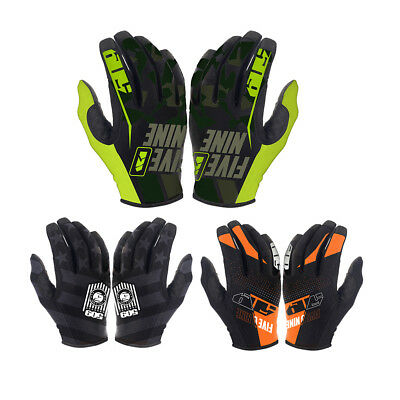509 4 Low Cuffless Low Profile Anti-Slip Breathable Snocross Snowmobile Gloves