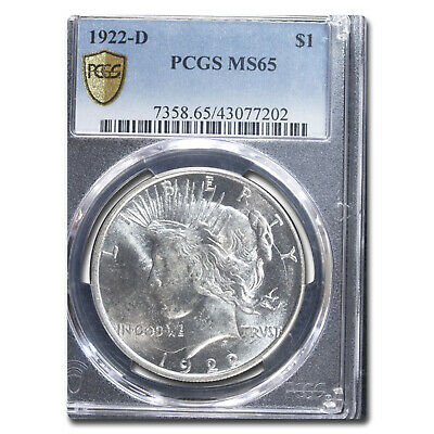 1922-D Peace Dollar MS-65 PCGS - SKU#24557