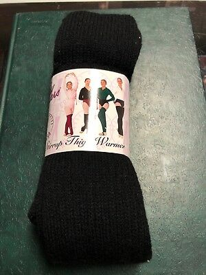 Body Wrappers Women's Leg Warmers Black One Size New 27 Inch