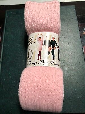 Body Wrappers Women's Leg Warmers Pink One Size New 48 Inch
