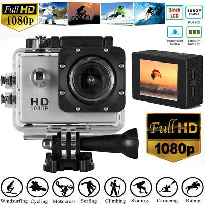 1080P 4K HD Sport Action Camera Digital Video Recorder Camcorder Waterproof 30m