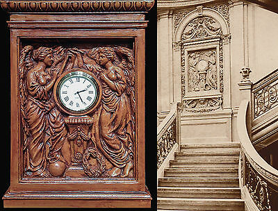 """rms TITANIC 'Honour and Glory Crowning Time"""" clock replica"""
