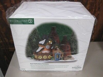 Dept 56 Dickens' Village Series ROYAL STAFFORDSHIRE PORCELAINS #58481 BRAND NEW