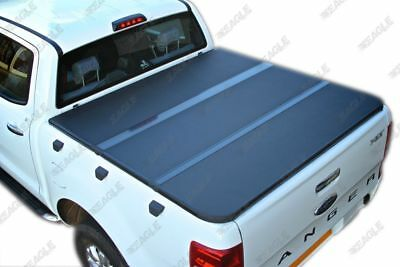 Ford Ranger Hard Tri Fold Tonneau Cover 2012+ Double Cab Aluminium Folding Cover