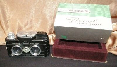 Vintage Sawyers View Master Personal Stereo Camera 107612 in Original Box