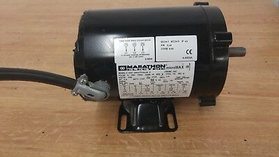 Marathon Electric Motor 1725 Rpm , 230V, 3 Phase 56H17T2011A .25Hp  1800