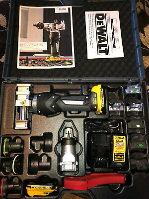 DeWalt REHAU Everloc + Everloc Plus PEX 12V power tool Flaring tool NEW!