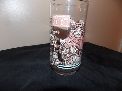 Star Wars Return Of The Jedi Collectors Glass 1983 (Coca Cola, Burger King)