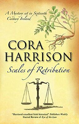 Scales of Retribution (Burren Mysteries) by Harrison, Cora Hardback Book The