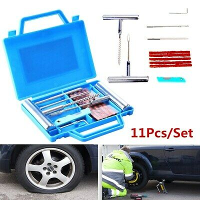 Car Motorcycle Tubeless Tyre Emergency Tools  Puncture Repair Kit Tire Plug Set