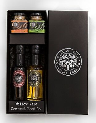 NEW Balsamic, oil and dukkah gift pack- WILLOW VALE GOURMET FOOD CO