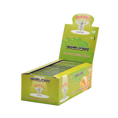 Hornet Melon Flavored Rolling Papers 1 1/4 Size Rizla Flavor Cigarette Roller