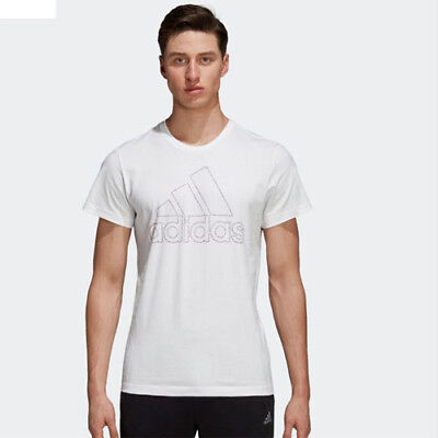 Adidas DI0320 Men ATHLETICS BOS ID tee SS shirts white