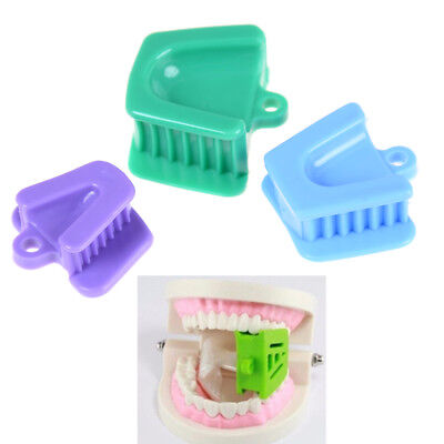 3Pcs/Set Silicone Mouth Prop Bite Blocks Dental Supplies Large Medium Small H&P