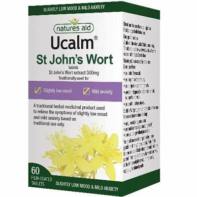 Natures Aid Ucalm 300mg -60 Tablets