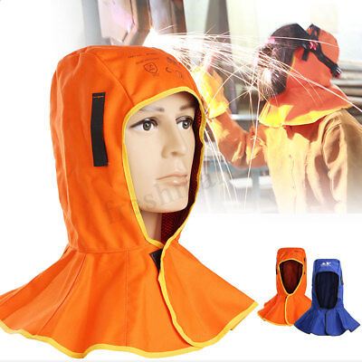 Welding Helmet Neck Cap Flame Retardant Safety Protective Hood Welder Head Cover