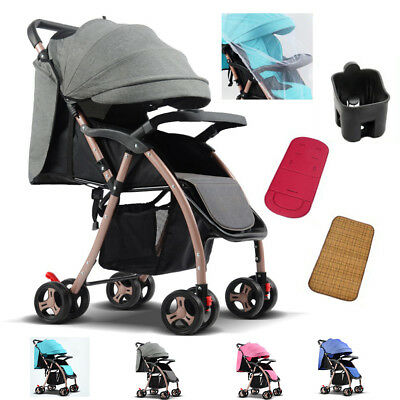 Baby Pram Newborn 2in1 Buggy Pushchair Stroller Carrycot Travel System