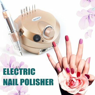 35000RPM Nail Electric Manicure Machine Pedicure Milling Cutter 30Pcs Drill Bits