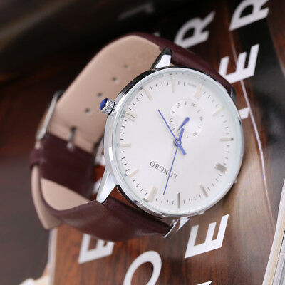 LONGBO Men Upscale and Simple Design Chronograph Function Watches 80070 ~~