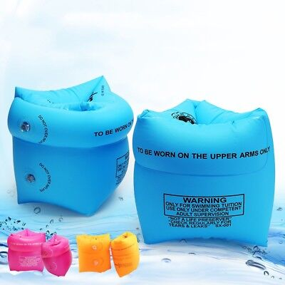 Baby Kids Safety Inflatable Pool Swim Helper Floating Swimming Aid Arm Band Ring