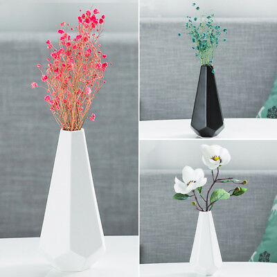 Home Garden Ceramic Vase Flower Hanging Vase Planter Terrarium Container New