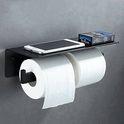 Double Toilet Paper Holder Oil Rubbed Bronze Paper Tissue Holder Wall Mounted