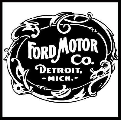 Ford Motor Company Genuine 3'x3' Car Auto Garage Shop Vinyl Banner Sign Art