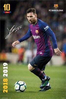 Barcelona Messi Poster 18-19 61x91.5cm