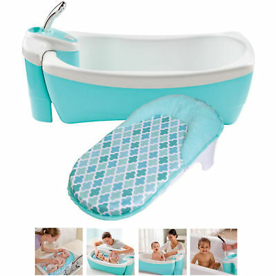 New Summer Infant Lil Luxuries Baby Spa Baby Bath Tub  With Newborn Sling
