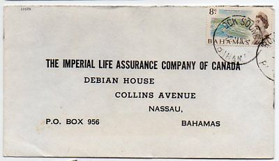 Bahamas 1971 intra Island mail from Rock Sound to Nassau