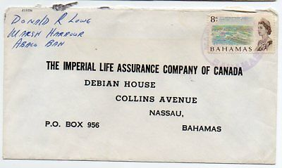 Bahamas intra Island mail to Nassau with Marsh Harbour TRD