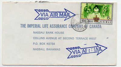 Bahamas 1977 intra Island mail to Nassau from Spanish Wells