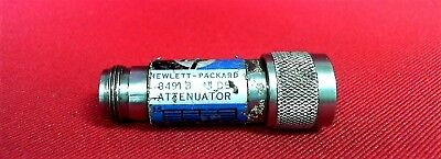 "HP - Agilent - Keysight 8491B Coaxial Fixed Attenuator, DC to 18GHz  ""N"""