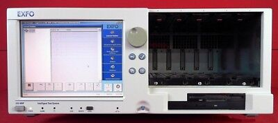 Exfo IQS-500 / IQS-505P Control mainframe with 8.4-inch touchscreen control