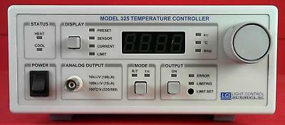 Light Control Instruments, Inc. 325 Temperature Controller