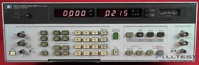 HP - Agilent - Keysight 8903A Audio Analyzer, 20Hz to 100kHz