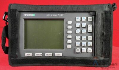 Anritsu S331B SiteMaster 25MHz to 3300MHz Cable & Antenna Analyzer