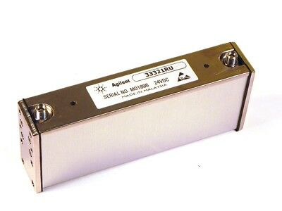 HP - Agilent - Keysight 33321RU Step Attenuator, DC to 26.5 GHz