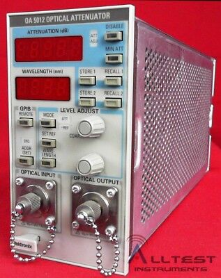 Tektronix OA5012 Optical Attenuator