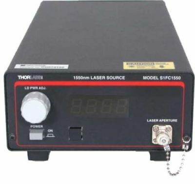 Thorlabs S1FC1550 Fiber Coupled Laser Source 1.5mW