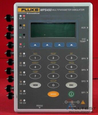 Fluke MPS450 Biomedical Multiparameter Simulator