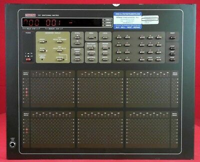Keithley 707 Switching Matrix Mainframe