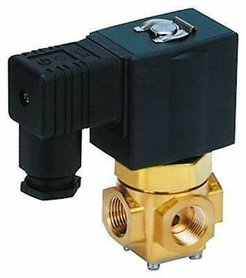 SMC Solenoid Valve VX3114-01F-JDR1, 3 port , Common, 230 V ac, 1/8in