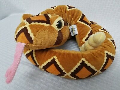 """The Petting Zoo Rattle Snake Plush 54"""" Stuffed Animal with Rattling Tail"""
