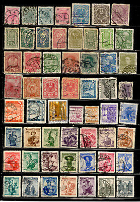 Austria Stamps 95 Different Lot Used