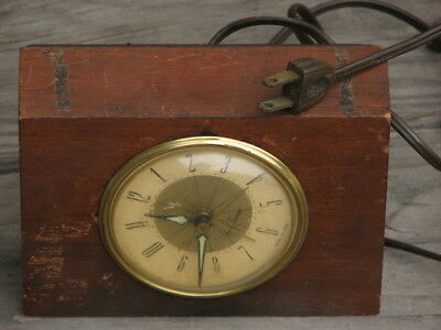 Vintage Electric Clock by Seth Thomas Made in USA -Works