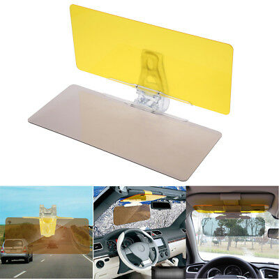 2 in 1 Car Anti-Glare Goggle Day&Night Vision Driving Mirror Sun Visors Glass