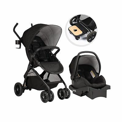 Evenflo Sibby Travel System, Charcoal Charcoal/grey Travel System only